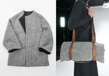Hermès, L/Z 2000 'Le porte vêtement', Left image: Monica Ho, Right image: Marina Faust