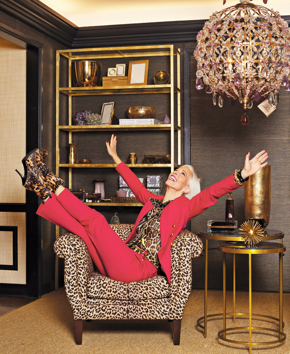 Linda Fargo, Fashion Director, Bergdorf Goodman USA Photo: Jerome Jakubiec, courtesy of Rizzoli USA