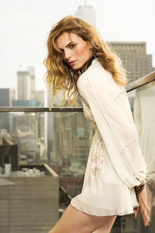 Andreja Pejic @andrejapejic Photo: Marko MacPherson, courtesy of Rizzoli USA
