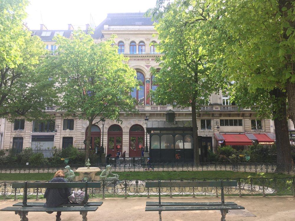 Outside La Gaîté Lyrique