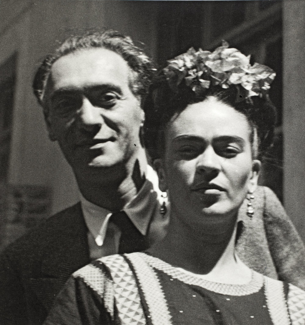 Nickolas Muray and Frida Kahlo , by Nickolas Muray, 1939 ©Frida Kahlo Museum