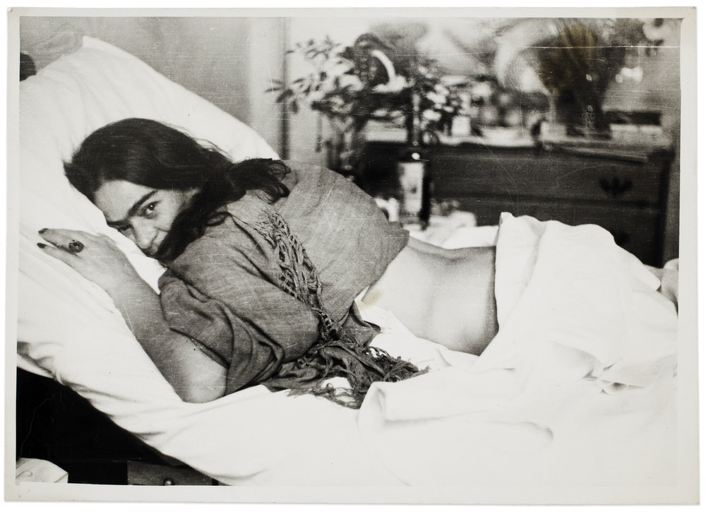 Frida stomach down , by Nickolas Muray, 1946 ©Frida Kahlo Museum