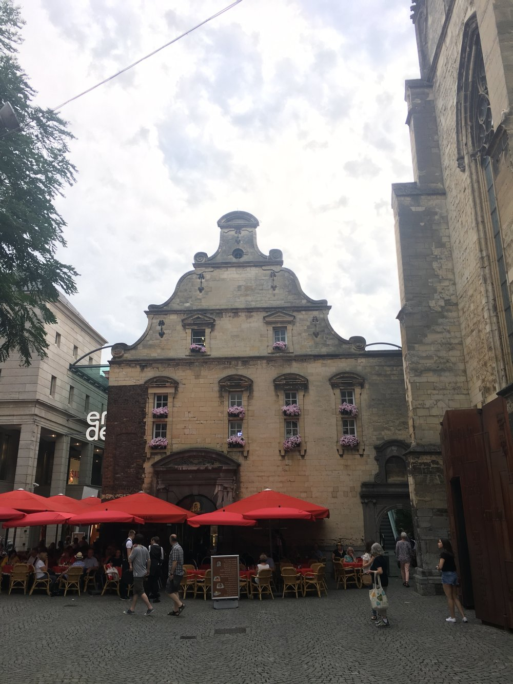 A square in front of Boekhandel Dominicanen Photo: S.Cooper
