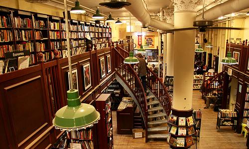 Housing Works Bookstore Cafe Image via goodreader.com