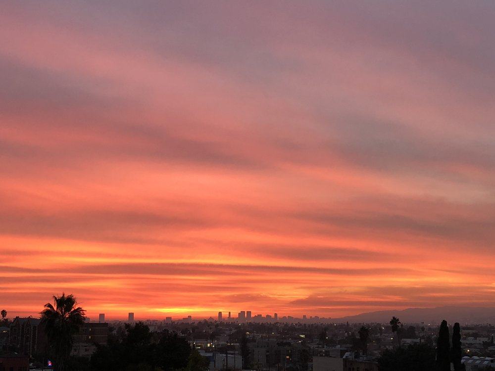 Mesmerizing sunsets in Los Angeles