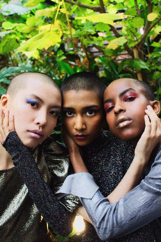 Photographer: Natalie Jeniffer  Model: Tiffany R Chan, Ash Apadu, Neema Kayitesi