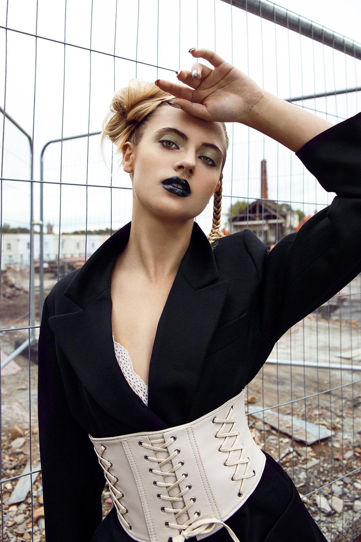 Imirage Magazine      Photographer: Egle Vasi  Hair Stylist: Claire Louise Bendy  Stylist: Victoria Ellis  Nail Artist: Marie - Louise Coster     Model   Leonie Jessup