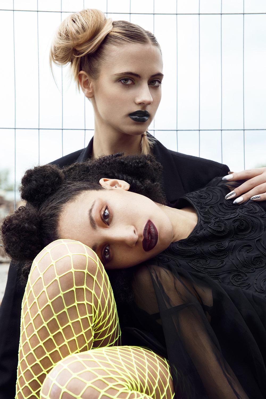 Imirage Magazine      Photographer: Egle Vasi  Hair Stylist: Claire Louise Bendy  Stylist: Victoria Ellis  Nail Artist: Marie - Louise Coster     Models   Leonie Jessup  Danzel Everett