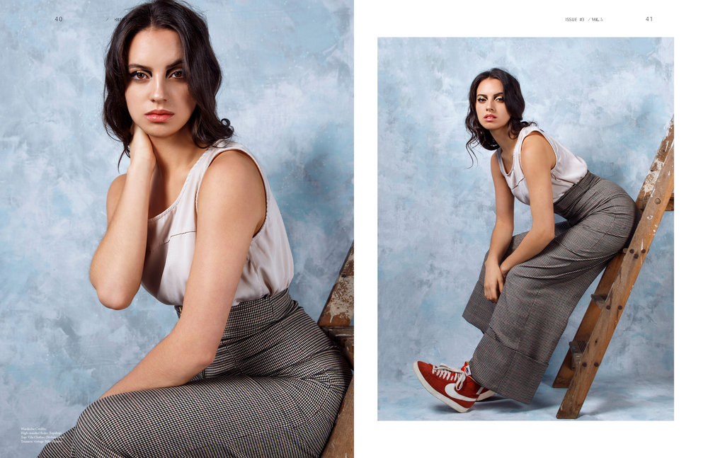 Shuba Magazine     Photographer: Egle Vasi  Hair Stylist: Claire Louise Bendy  Stylist: Victoria Ellis       Model   Natalie Anne Boyd