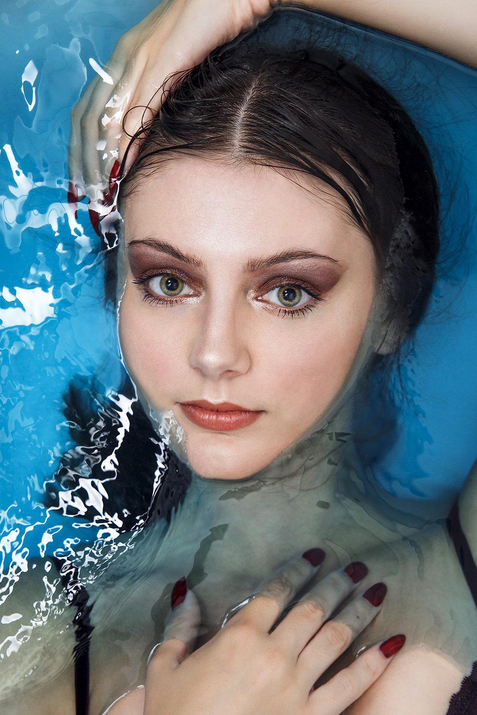 Bath Shoot   Photographer: Egle Vasi  Hair: Egle Vasi  Nail Artist: Marie-Louise Coster       Model   Robyn Francis
