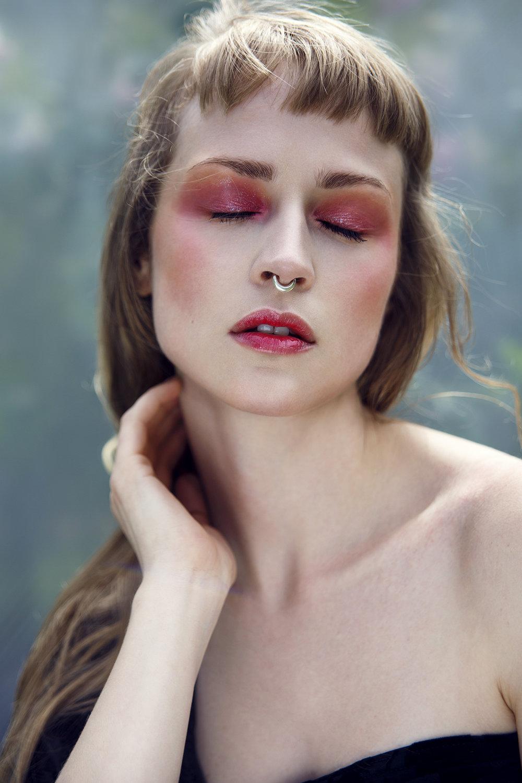 Institute Magazine    Photographer: Egle Vasi  Hair and Makeup: Daniela Renee       Model   Ffion Jones