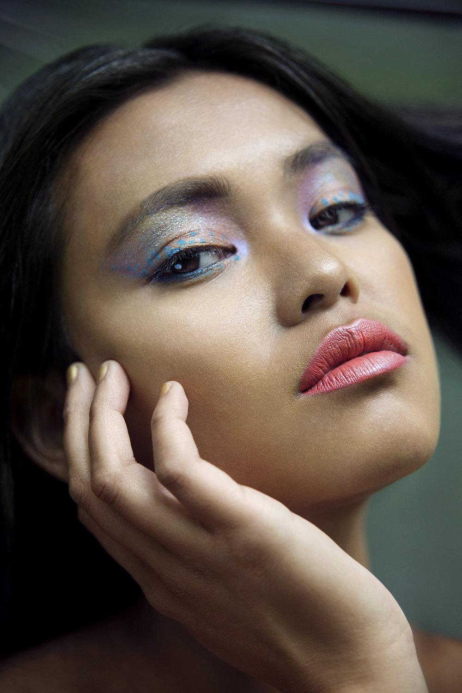 Institute Magazine    Photographer: Egle Vasi  Hair and Makeup: Daniela Renee       Model   Ambeir Rosa  Ffion Jones