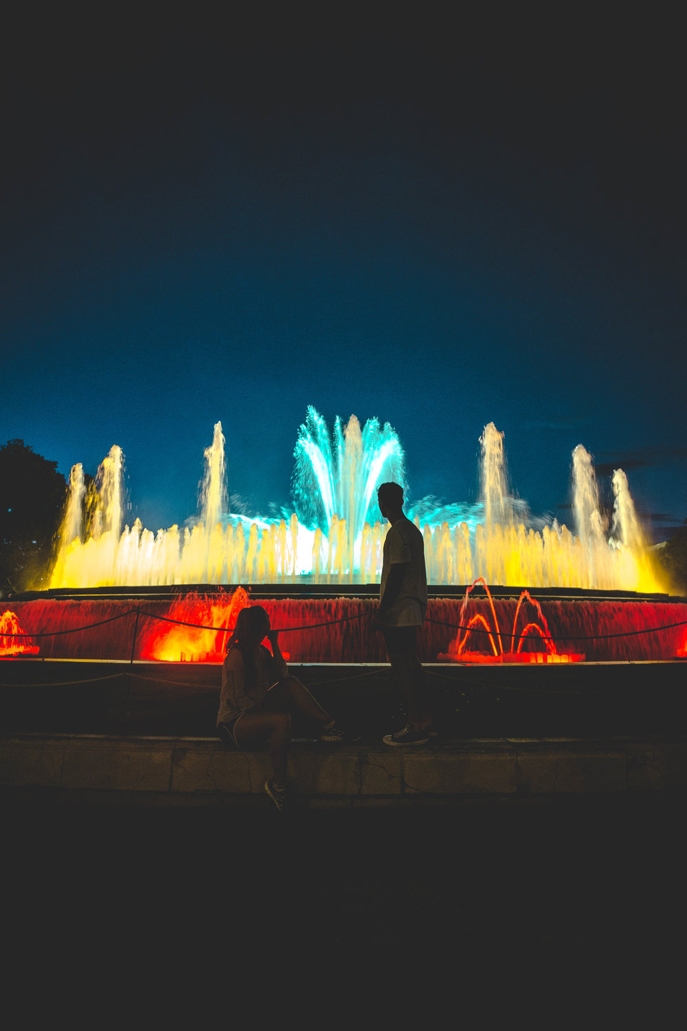 Barcelona - The Magic Fountain of Montjuic