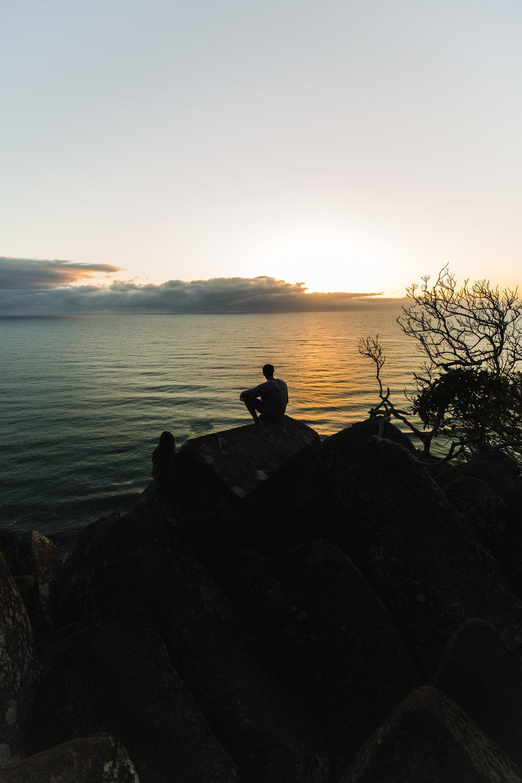 Burleigh Heads at Sunrise