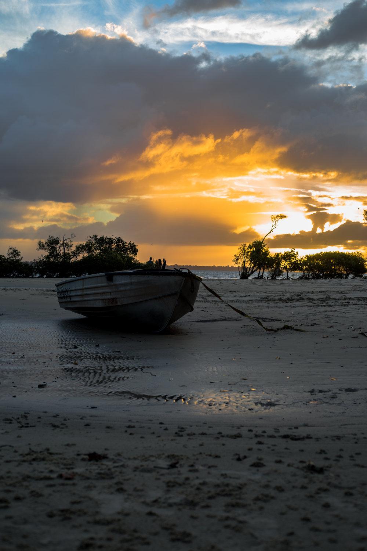 Sunset from Inskip Point