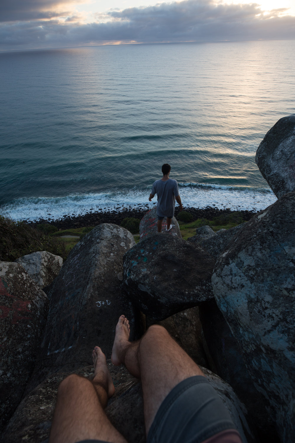 taking in the views at cock rock