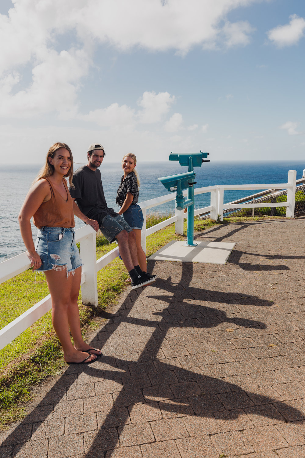Byron Bay Lighthouse with the Crew