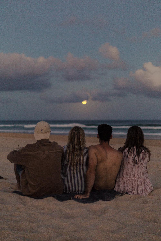 Moon Rise at Port Macquarie