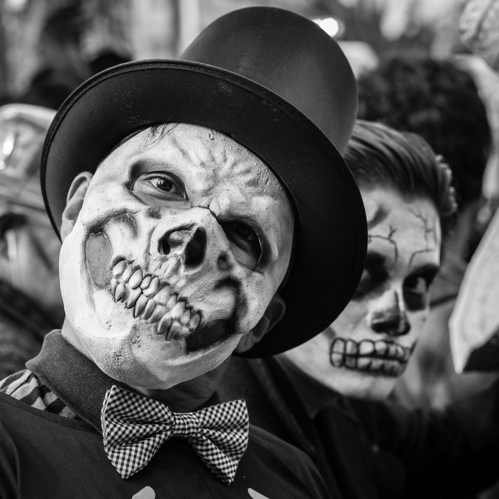 The Day of the Dead Festival in Mexico City.