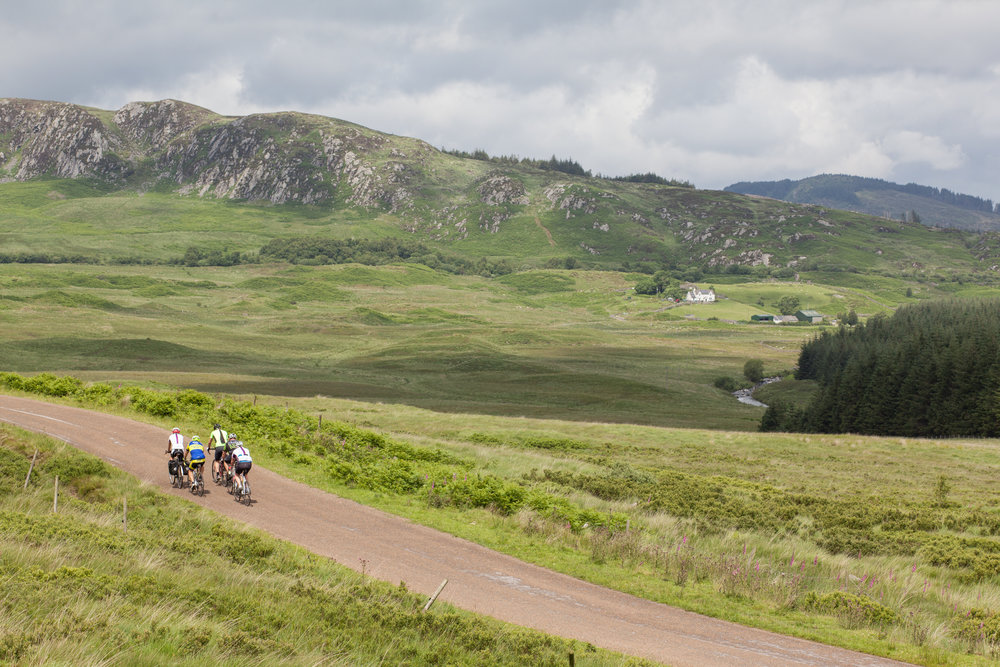 Cycling in Scotland on the Countrywide Great Tour 2015