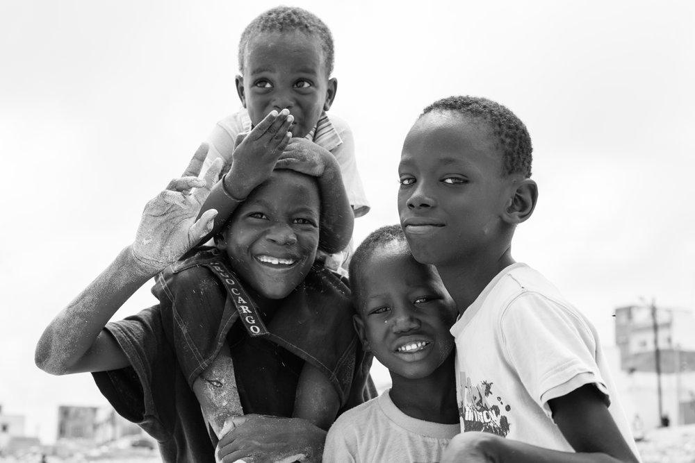 Child Portraits, Dakar
