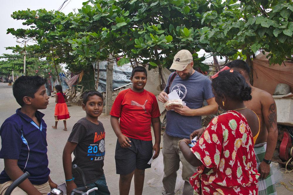 Photography volunteering in India.