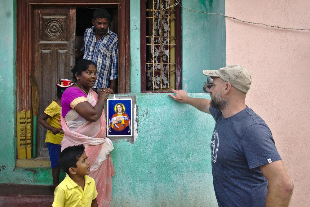 Family life in Pondicherry (or Puducherry).