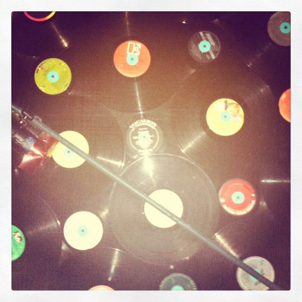 Records on the dance floor