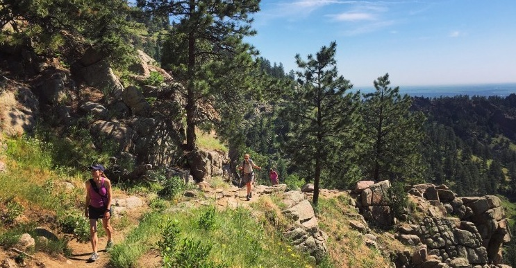 Boulder Colorado Best Seldom-Visited Hiking Trails. Gregory Canyon trail - superb spring hike