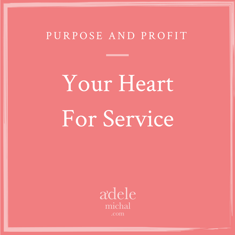 Your Heart For Service