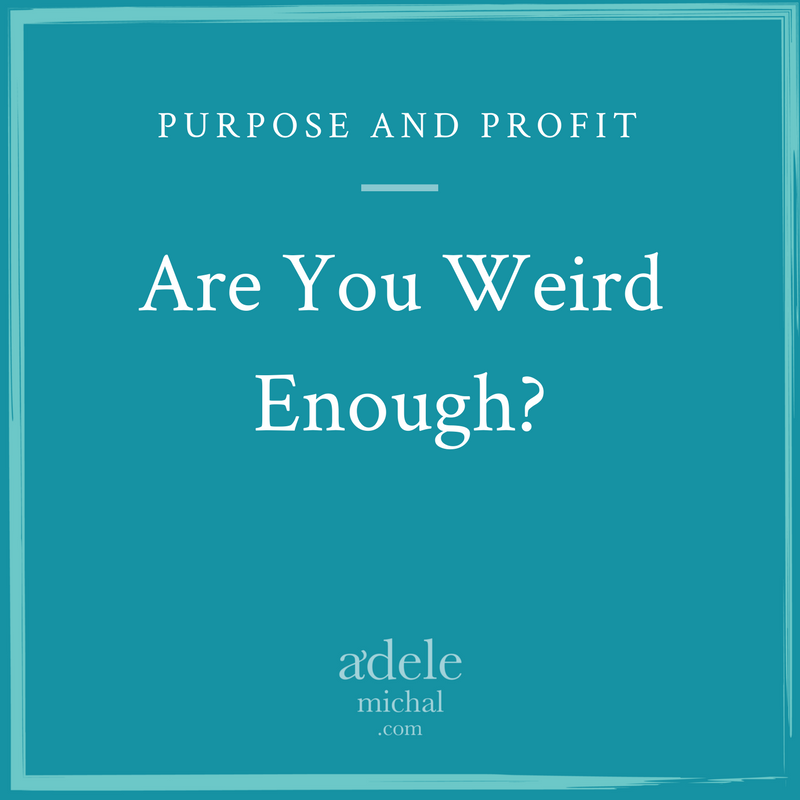 Are You Weird Enough?