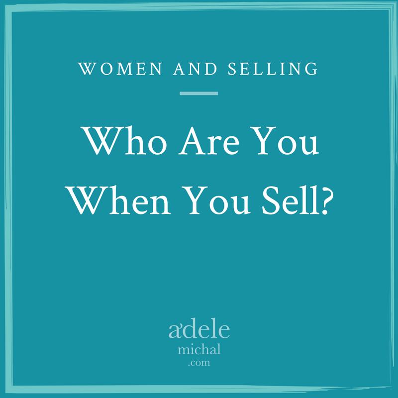 Who Are You When You Sell?