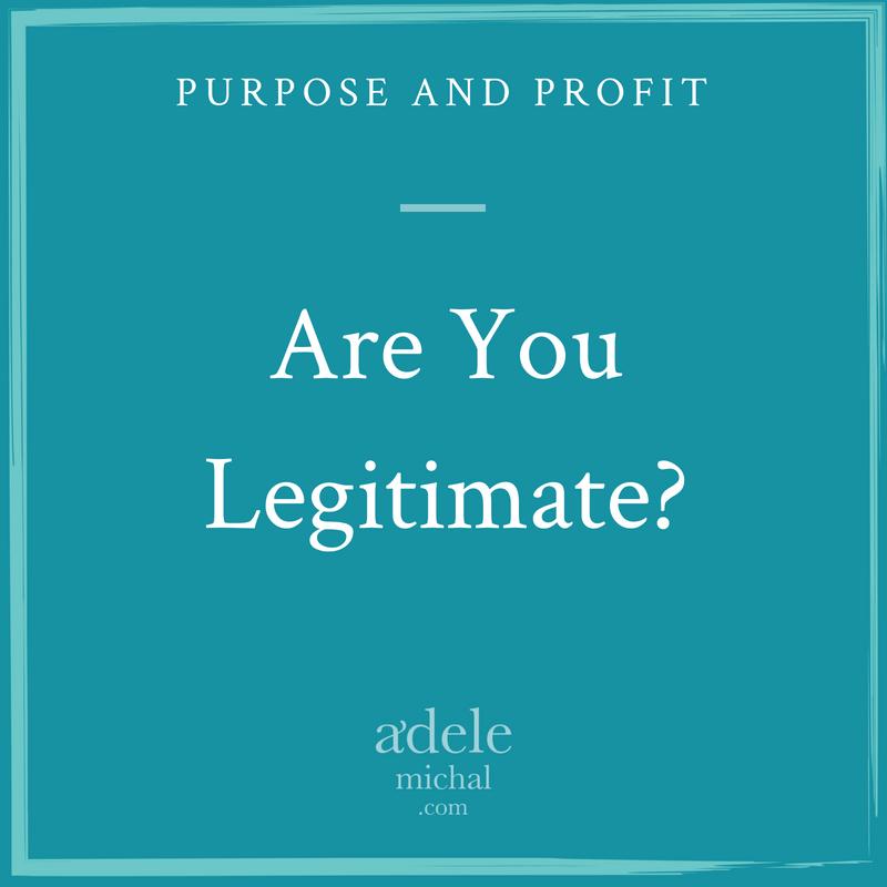 Are You Legitimate?