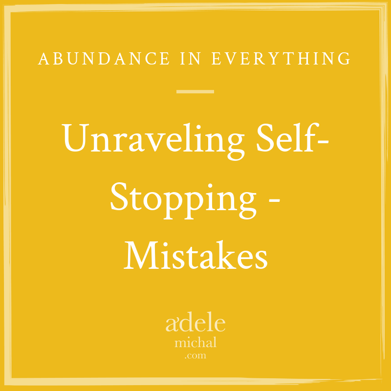 Unraveling Self-Stopping - Mistakes