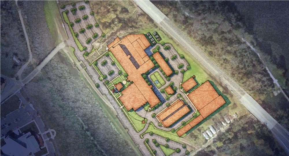 Augusta Cyberworks Complete Site Plan