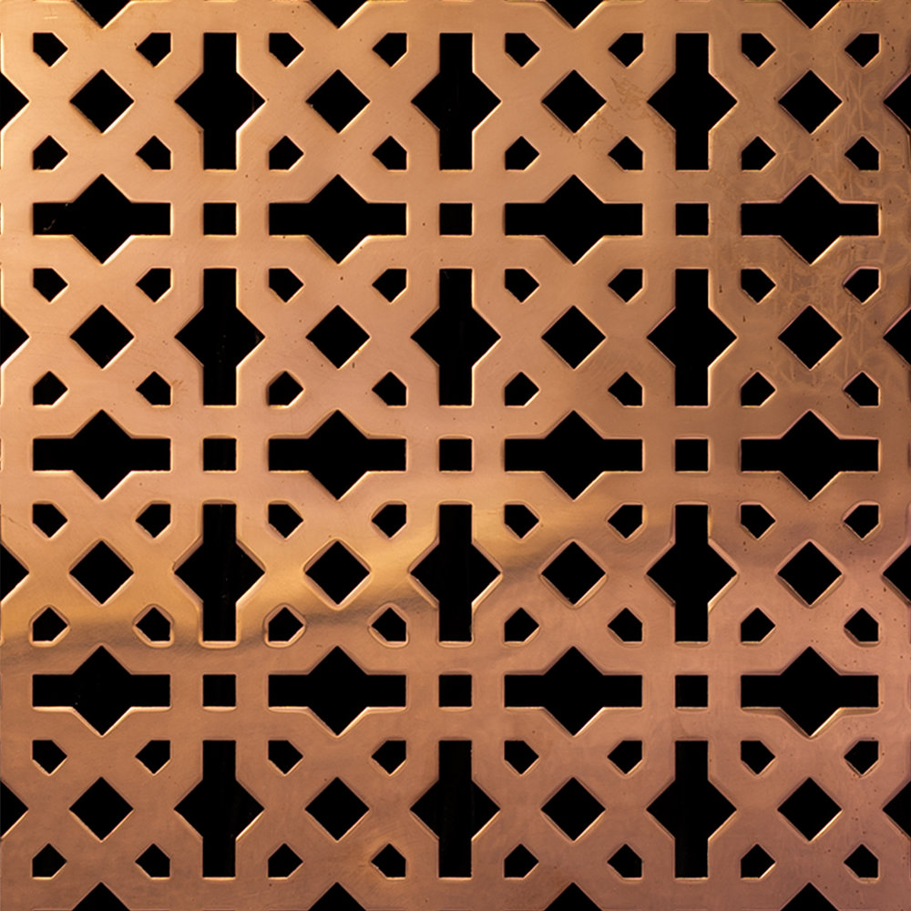 Copper pattern