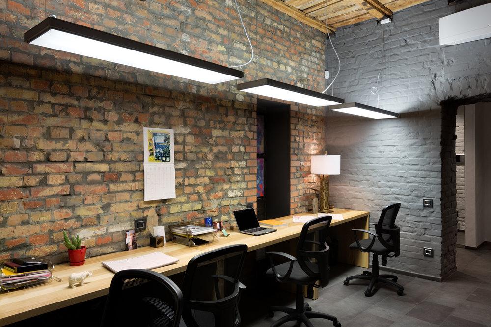 Рабочие место дизайнера - архитектора. Working place.