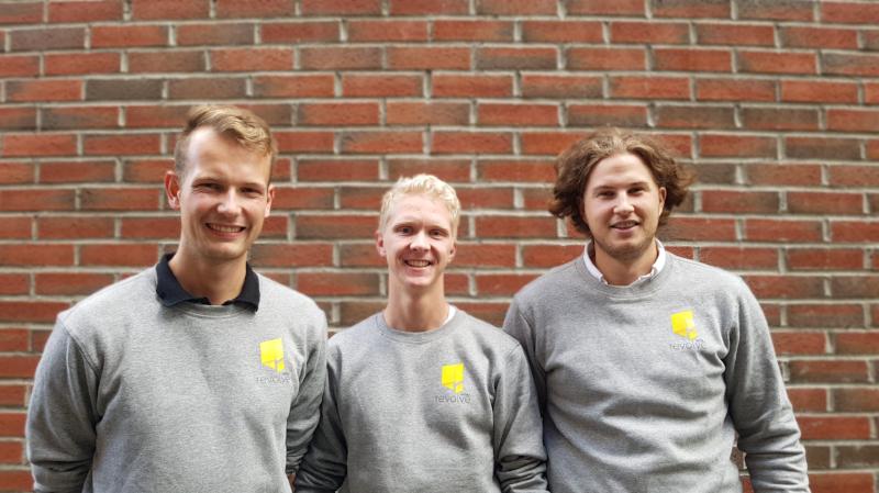 Fra venstre: Helge Bergo,Erik Brettingen Johansen,Ola Kirkerud