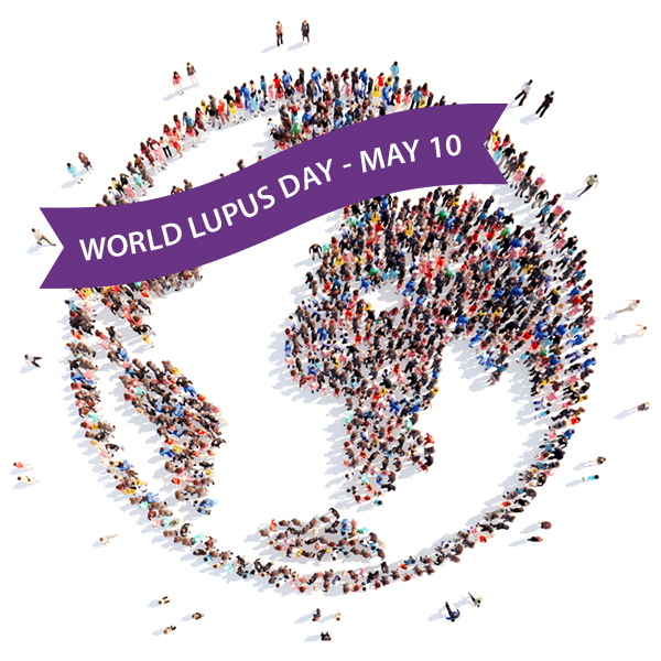 Image: World Lupus Federation http://www.worldlupusday.org