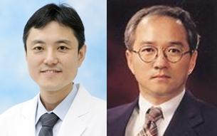 Professors Lee Sang-won and Lee Sang-kyu