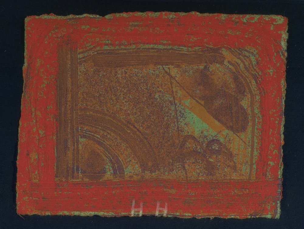 Cardo's Bar (Red) ,  Howard Hodgkin , 1979
