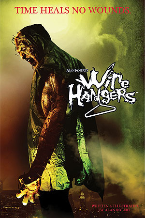 Wire Hangers: Graphic Novel Cover