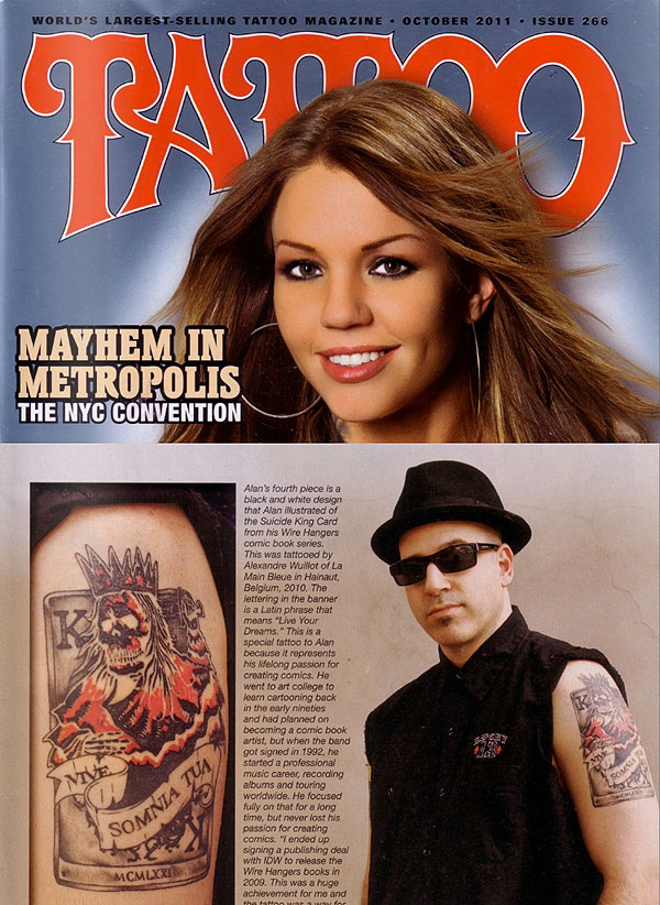 Alan Robert/Tattoo Magazine #266 (Oct. 2011)