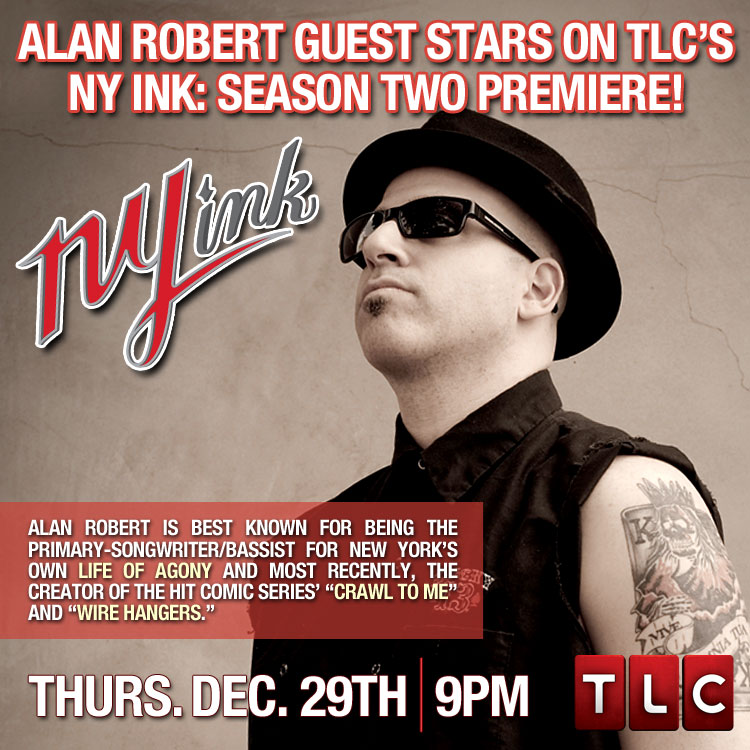 Alan Robert: NY Ink Season Two Premiere