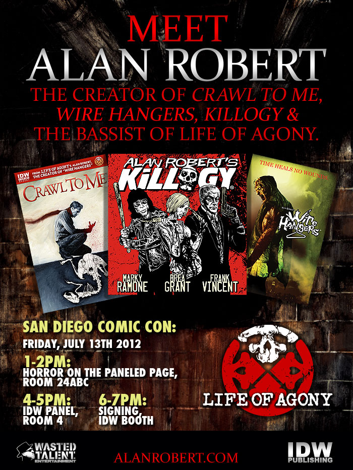 Meet Comic Creator, Alan Robert, at SDCC