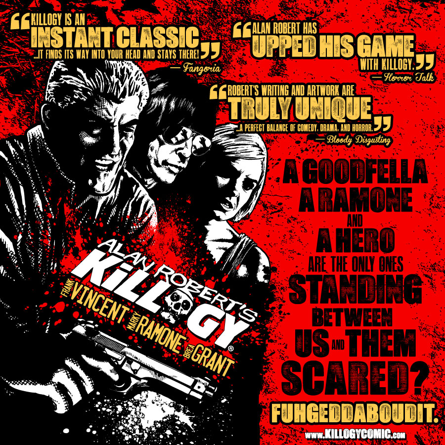 ALAN ROBERT'S KILLOGY® COMIC SERIES (IDW)