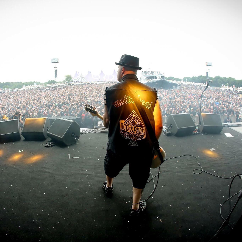 Alan Robert performing at Belgium's Graspop Festival (June 2015). Photo by Tim Tronckoe
