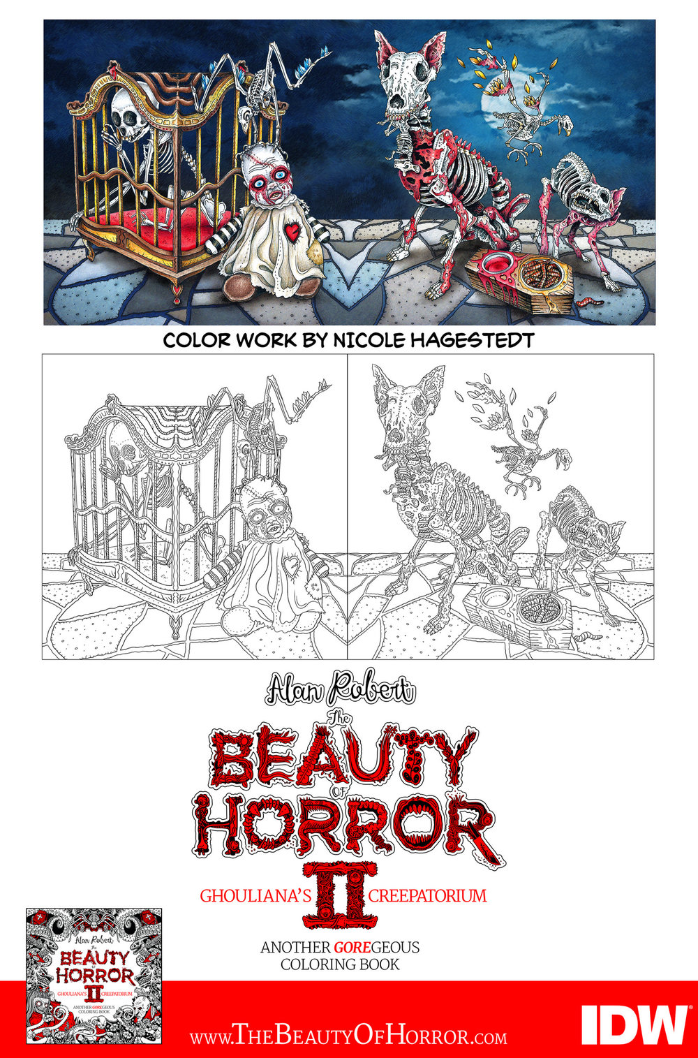 The Beauty of Horror 2: Color Examples