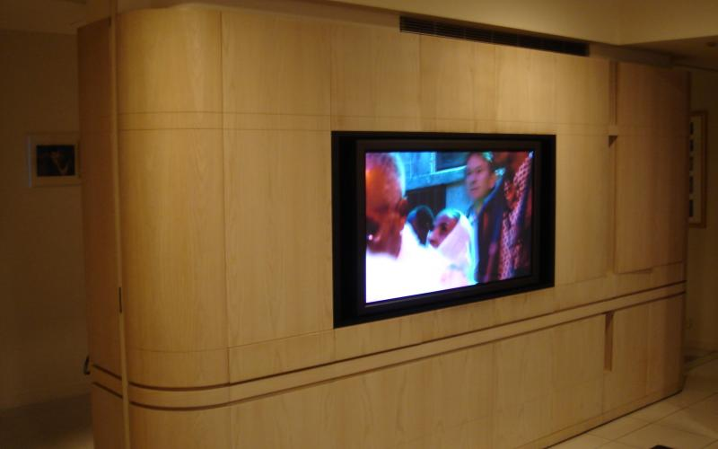 Custom Mounted Flat Screen Television Installation.jpg