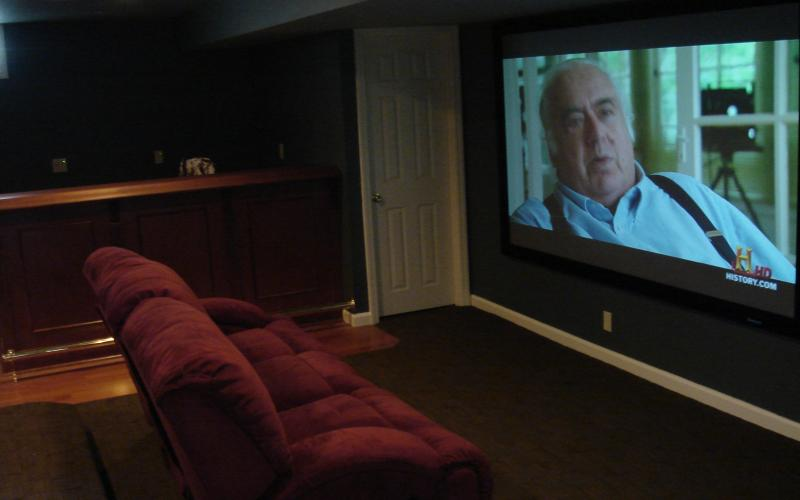 Huge home theater screen installation.jpg
